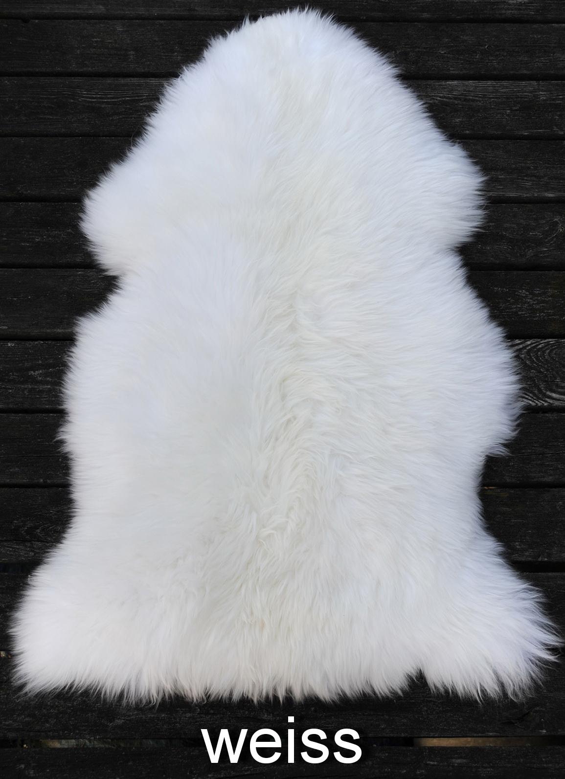 Lammfell Weißgerbung
